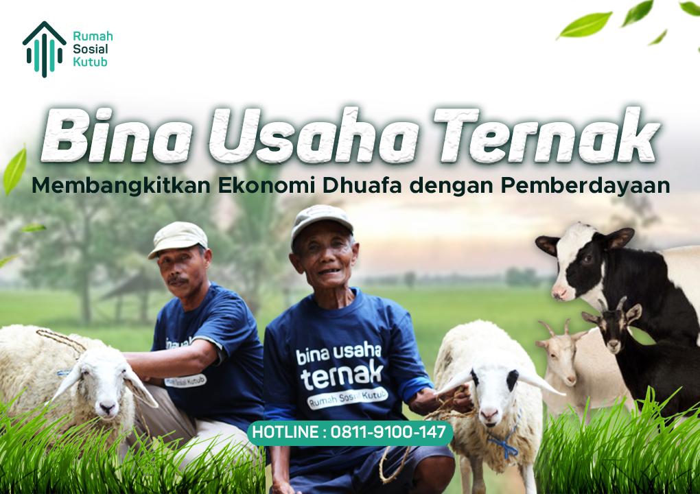 website atas bina usaha ternak